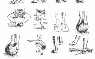 Массаж и гимнастика при вальгусной и плосковальгусной деформации стопы у детей: видео-урок с упражнениями