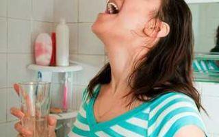 «хлоргексидин»: инструкция по применению раствора детям для полоскания горла, промывания носа и ингаляций