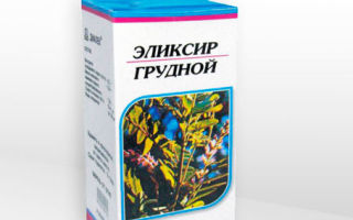 Инструкция по применению «грудного эликсира» у детей: растительное средство против кашля