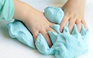 Простые способы сделать «лизуна» в домашних условиях без тетрабората натрия и клея: рецепты для детей своими руками
