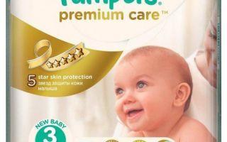 Какие подгузники лучше выбрать для новорожденных: таблица с размерами, различия и рейтинг памперсов — топ-6