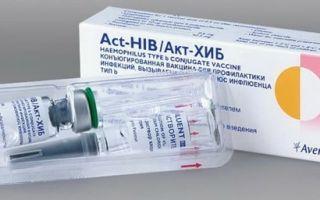 От чего ставят прививку «хиберикс» ребенку: инструкция по применению и график вакцинации