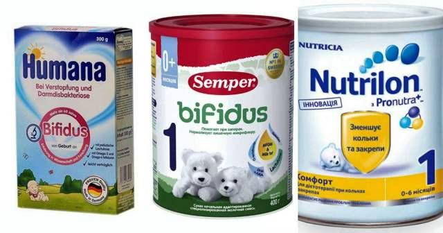 Какую смесь лучше выбрать для новорожденного при запорах и коликах: обзор детского лечебного питания