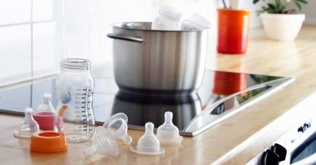 Как стерилизовать и кипятить детские бутылочки для кормления, пустышки: в микроволновке, мультиварке и пароварке