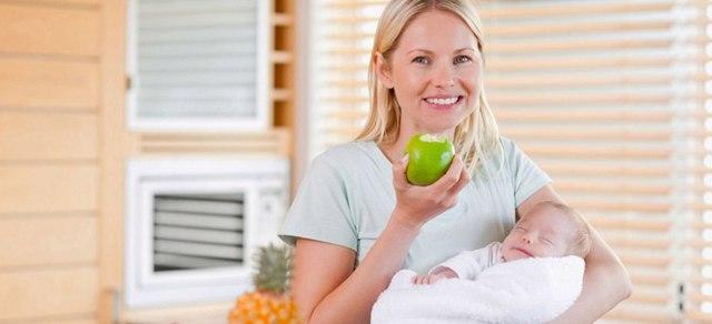 Что приготовить на завтрак, обед и ужин кормящей маме новорожденного: примерное меню на неделю