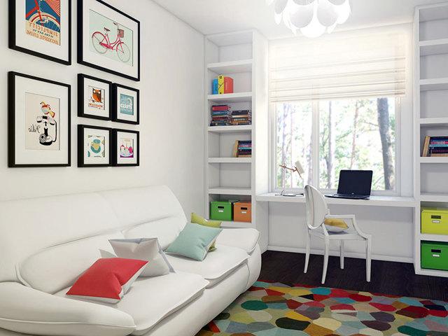 Дизайн интерьера детской комнаты 12 кв м для девочки и мальчика: фото-идеи планировки и ремонта