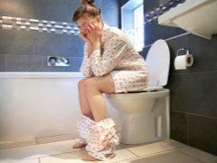 Как после родов или кесарева сечения сходить в туалет по большому: как наладить стул?