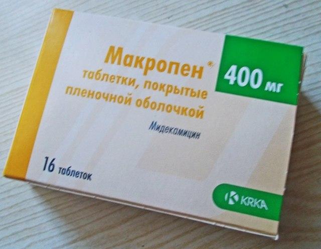 Суспензия и таблетки макропен для детей: инструкция по применению препарата