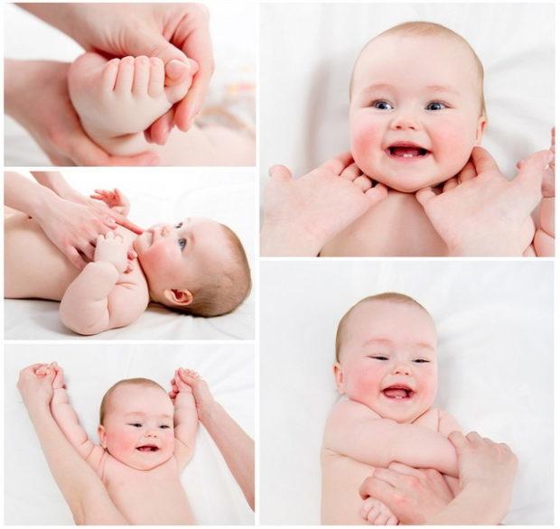 Как и с какого возраста можно делать массаж новорожденным: упражнения для грудничков 1-2-3 месяцев в домашних условиях