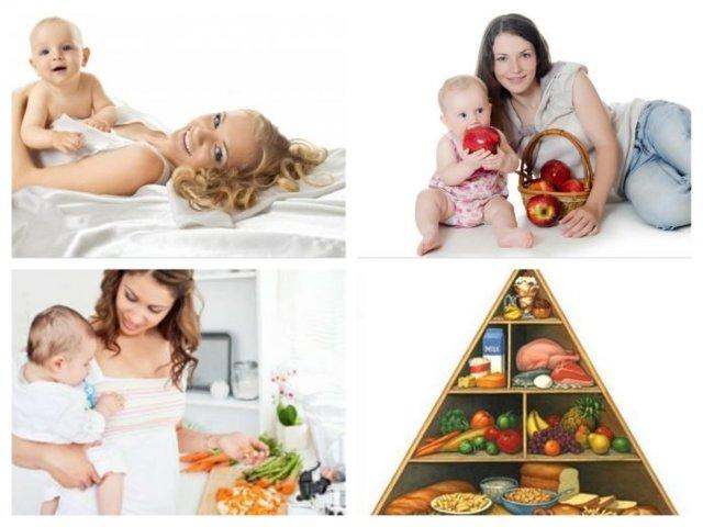 Таблица питания и меню кормящей мамы новорожденного по месяцам: диета по комаровскому со списком продуктов