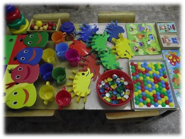 Сенсорное развитие и воспитание детей 2-3 лет: дидактические игры, занятия по сенсорике