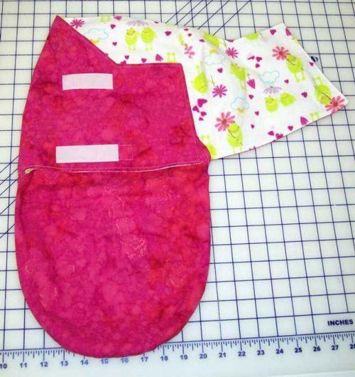 Обзор пеленок для новорожденных на молнии и липучках: виды коконов и мастер-класс по шитью своими руками