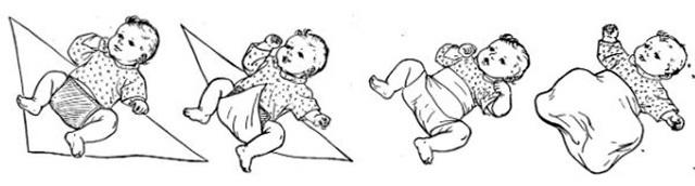 Как правильно запеленать новорожденного ребенка: 3 техники с пошаговой фото-инструкцией, все