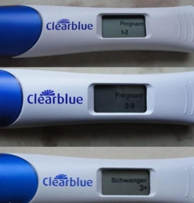 Электронные тесты на беременность clearblue easy, digital, plus: инструкция по применению