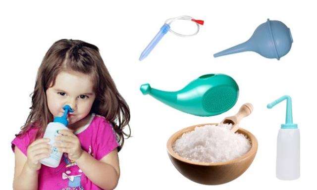 Как правильно сделать соляной раствор для промывания носа ребенку в домашних условиях?
