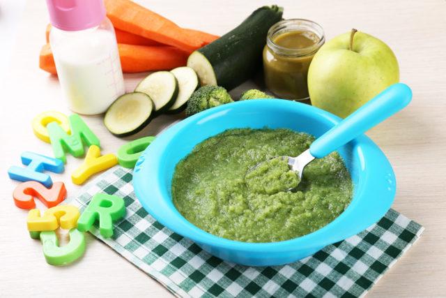 Выбор овощного пюре для первого прикорма ребенка 4-6 месяцев: рецепты и последовательность введения новых овощей