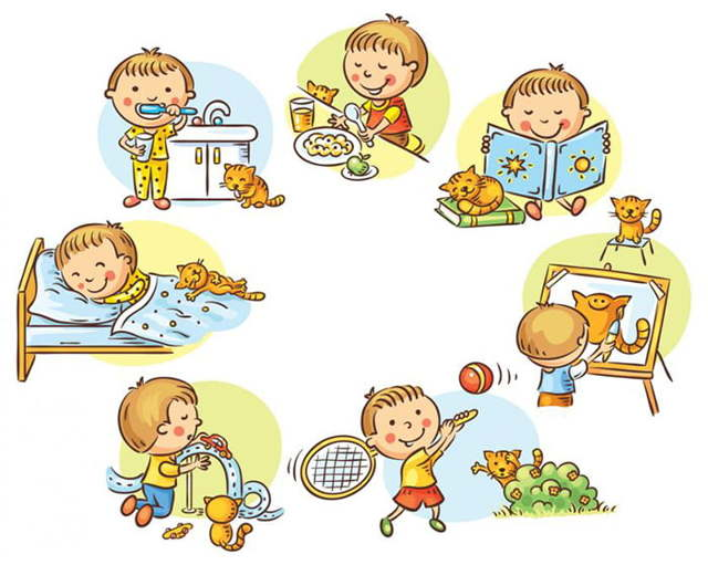 Режим дня ребенка в детском саду: расписание занятий, сна и питания в садике