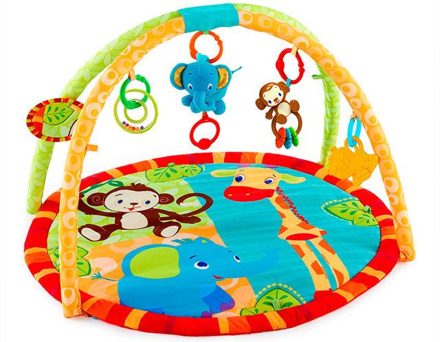 С какого возраста нужен развивающий умный коврик, и какую модель лучше выбрать для детей до года?