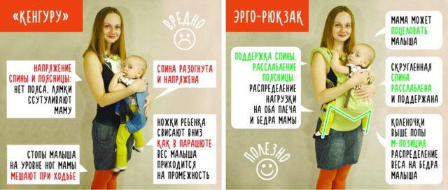 Рюкзак-переноска для новорожденных