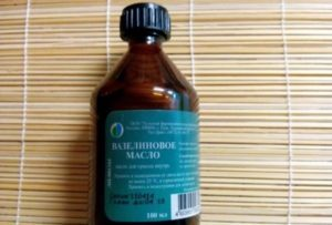 Инструкция по применению вазелинового масла для новорожденных и детей старшего возраста
