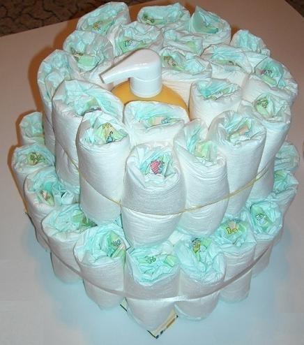 Как сделать тортик из памперсов своими руками в подарок девочке и мальчику: пошаговые мастер-классы для начинающих