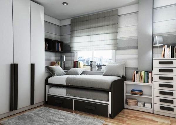 Идеи подростковой комнаты для мальчика: дизайн интерьера и подбор мебели в современном стиле