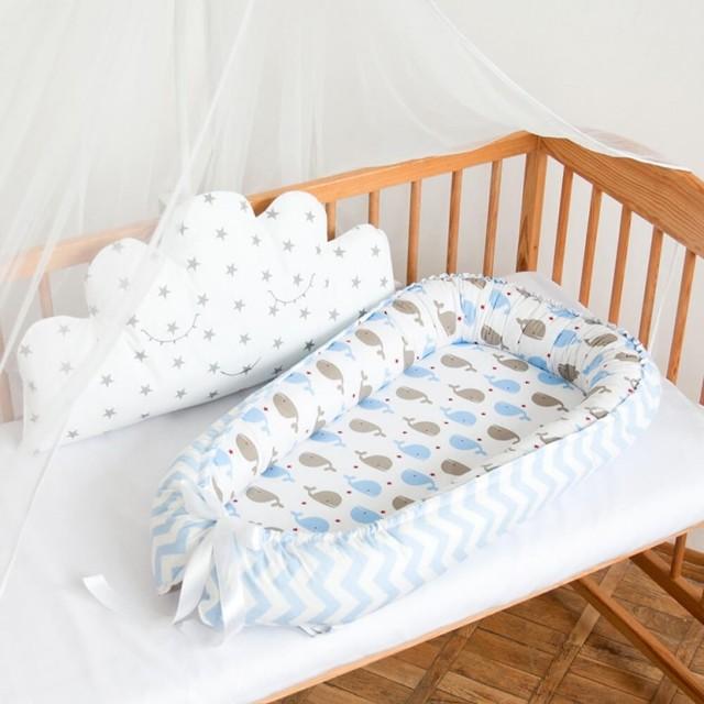 Как своими руками сшить кокон-гнездышко для новорожденного: мастер-класс с выкройками и схемами