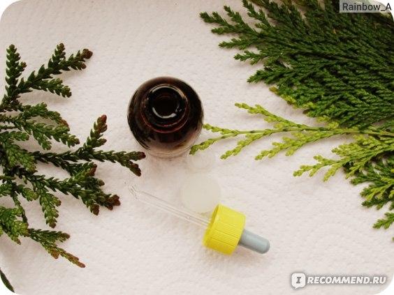 Инструкция по применению масла туи для детей при аденоидах и насморке