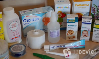 Что должно быть в детской аптечке новорожденного: список необходимого для ребенка до года